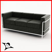 Le Corbusier LC 2/3 3d model