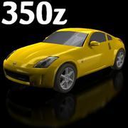 닛산 350Z 3d model