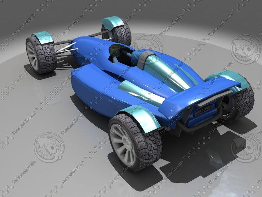 Track Mania Stadium Car royalty-free 3d model - Preview no. 5