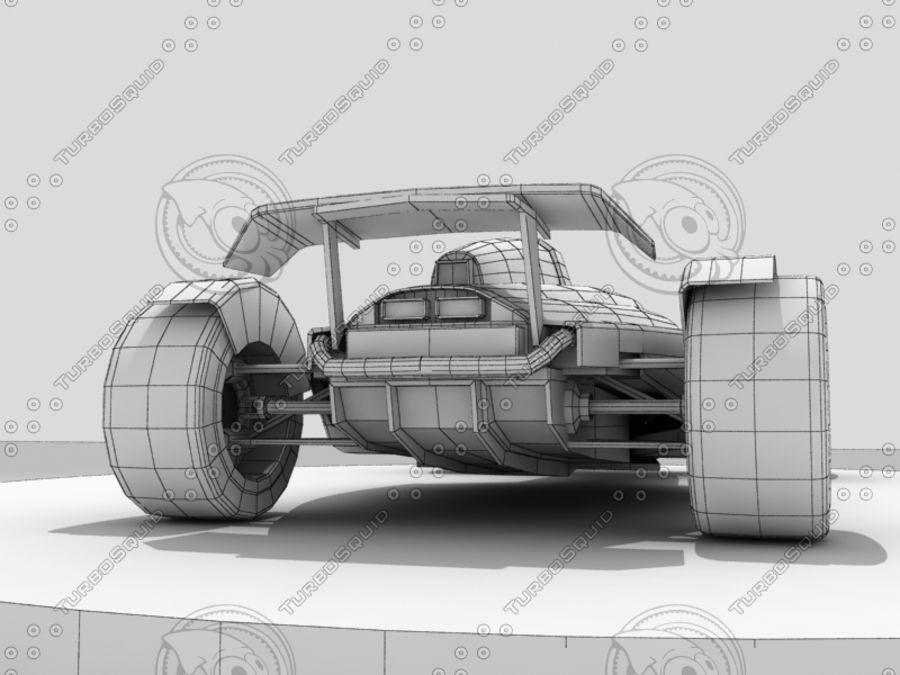 Track Mania Stadium Car royalty-free 3d model - Preview no. 11