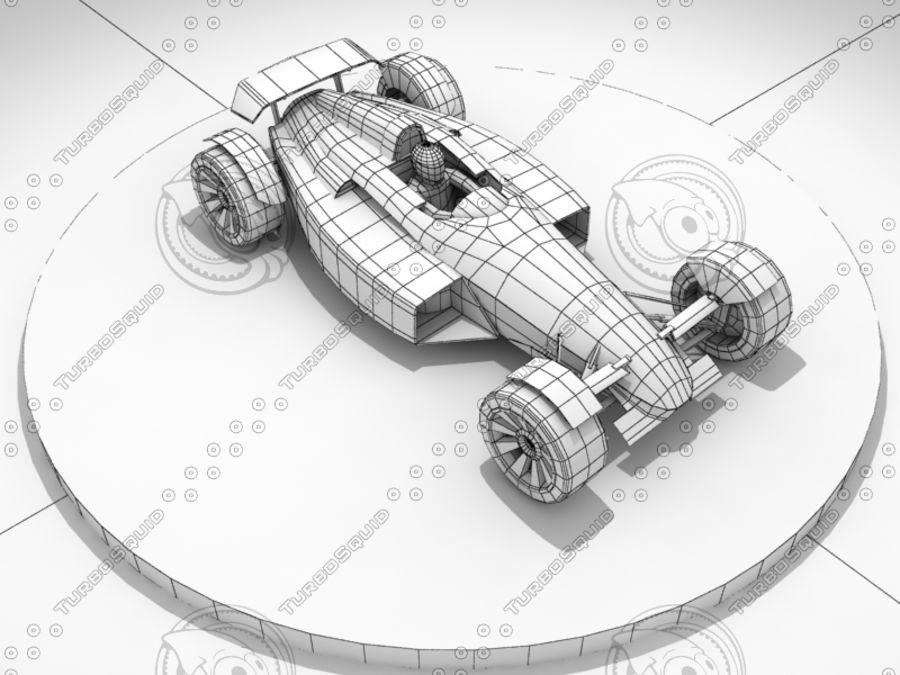 Track Mania Stadium Car royalty-free 3d model - Preview no. 8