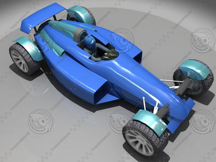 Track Mania Stadium Car royalty-free 3d model - Preview no. 6