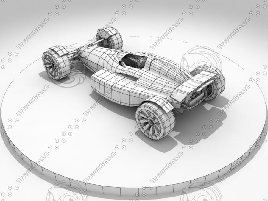 Track Mania Stadium Car royalty-free 3d model - Preview no. 7