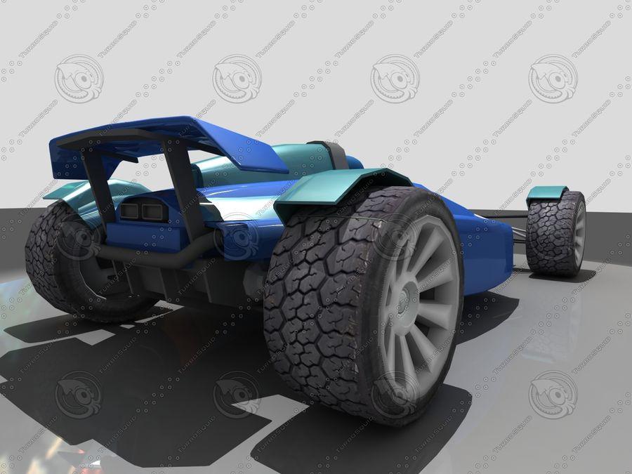 Track Mania Stadium Car royalty-free 3d model - Preview no. 1