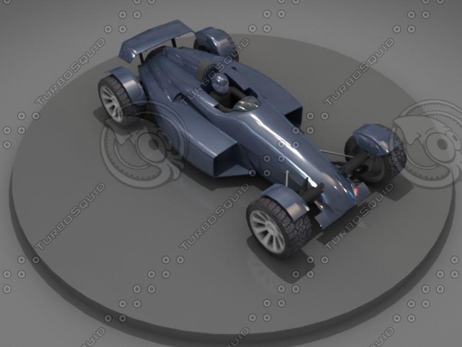 Track Mania Stadium Car royalty-free 3d model - Preview no. 4