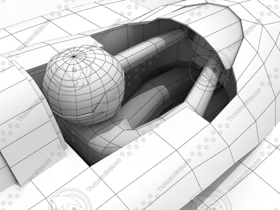 Track Mania Stadium Car royalty-free 3d model - Preview no. 10
