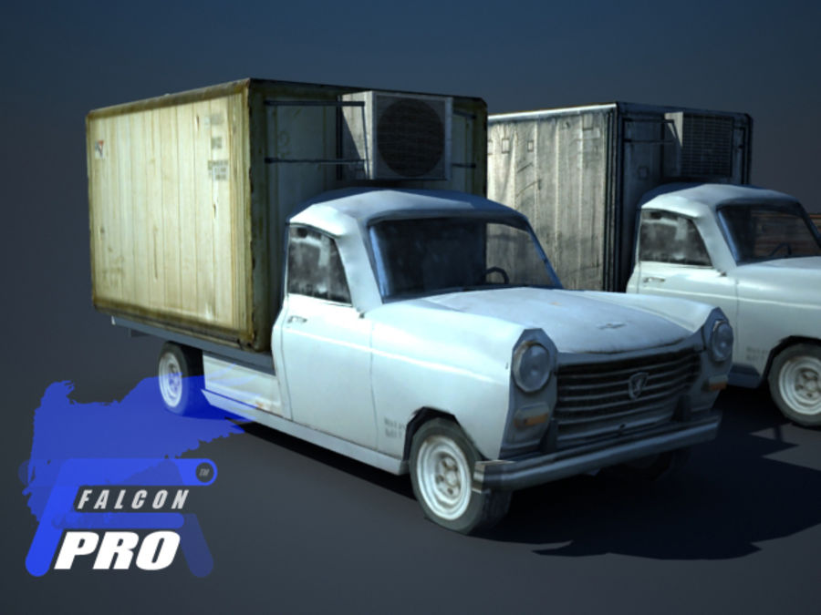 Old french pickup 3D Model $10 - .max - Free3D