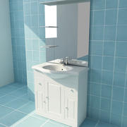BATHROOM FIXTURE 3d model