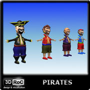 Pirates 3d model
