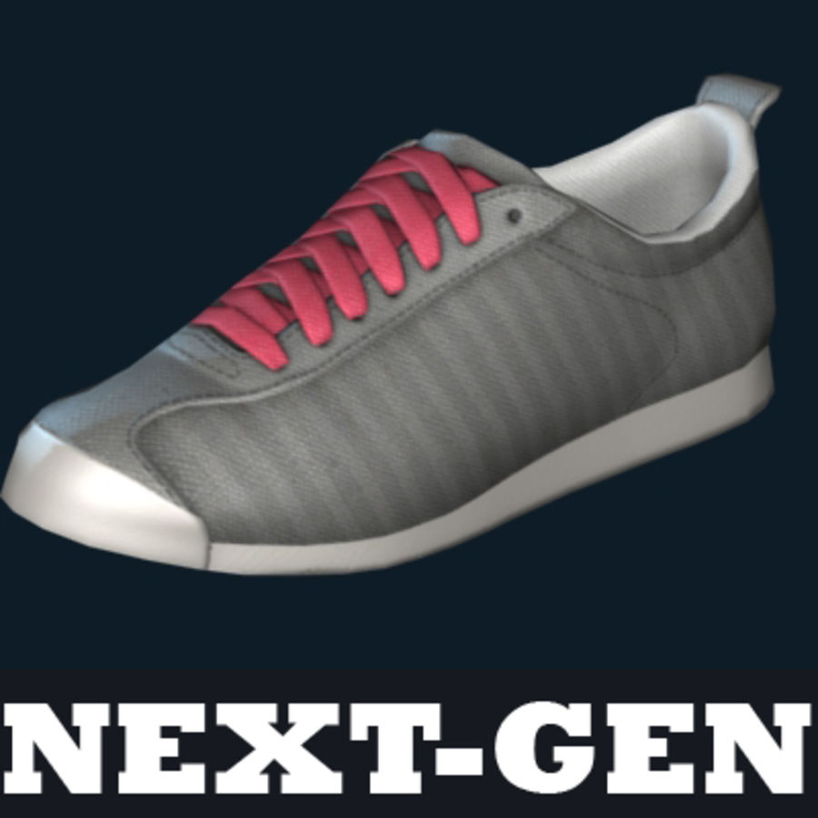 Sports shoes #04 next-gen low poly model 3D Model $20 -  obj  max