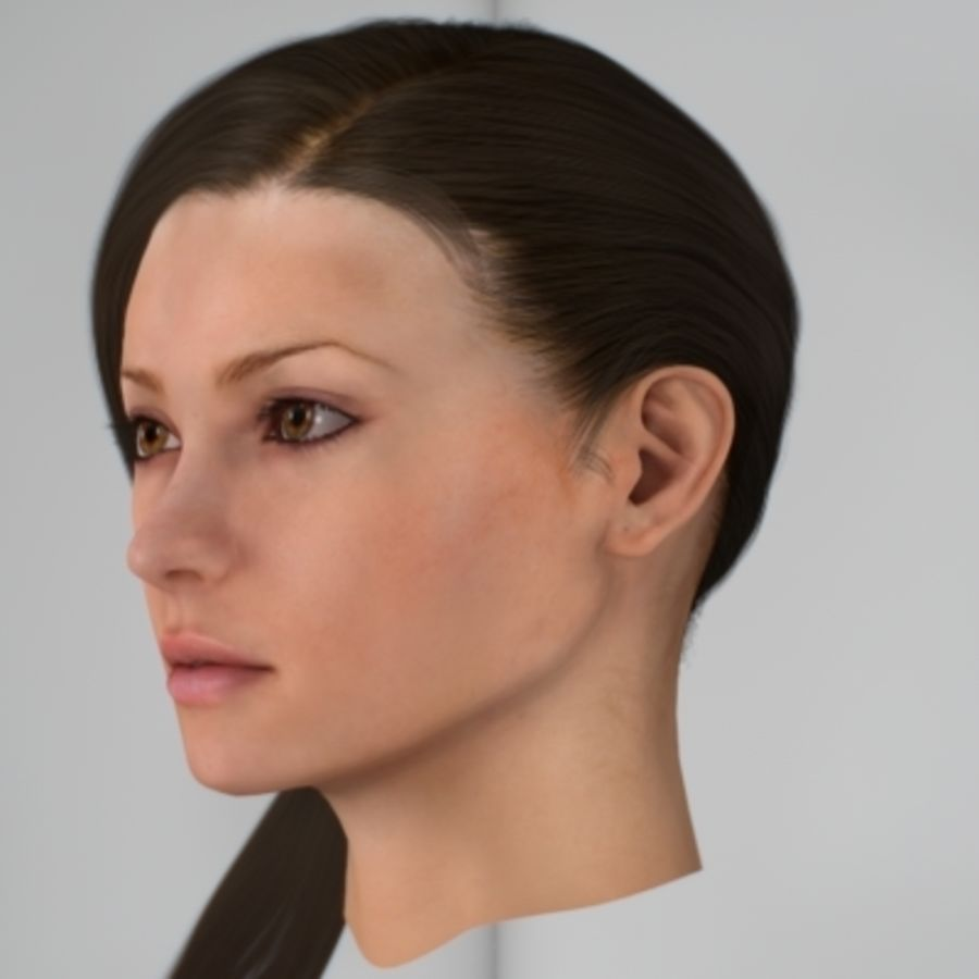 Sonia_head royalty-free 3d model - Preview no. 2