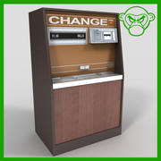 change machine 3d model