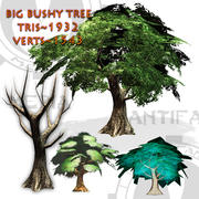 Big Bushy Tree 3d model