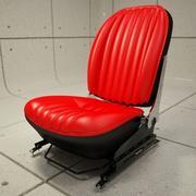 356C Car Seat + Rail.max 3d model