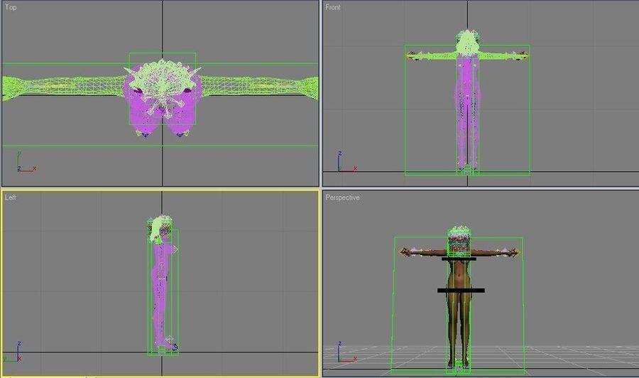 Dark Elf.max royalty-free 3d model - Preview no. 7