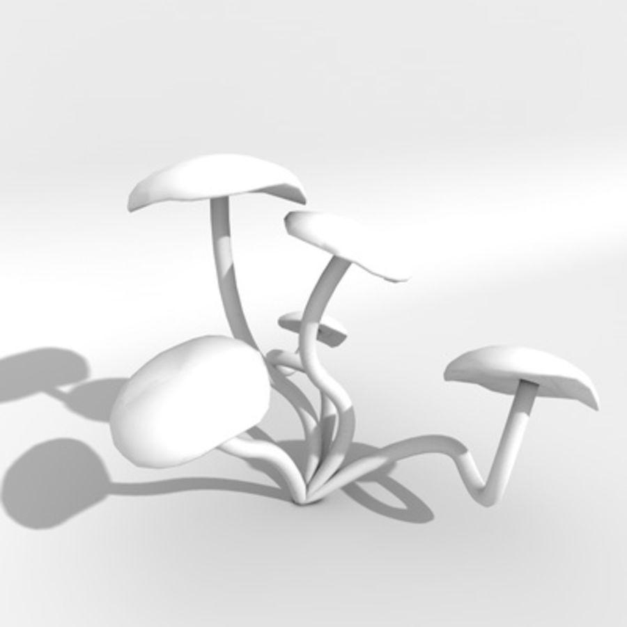 Pilz royalty-free 3d model - Preview no. 2