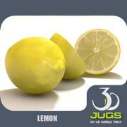 Лимон 3d model