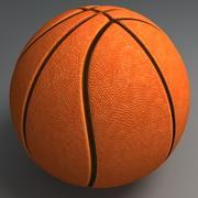 Pelota de baloncesto de alta calidad modelo 3d