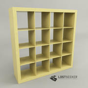 IKEA Bookcase 4x4 3d model