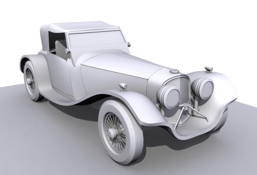 Старинный автомобиль royalty-free 3d model - Preview no. 2