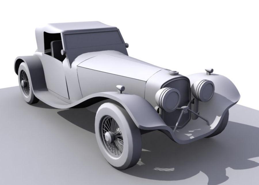 Старинный автомобиль royalty-free 3d model - Preview no. 1