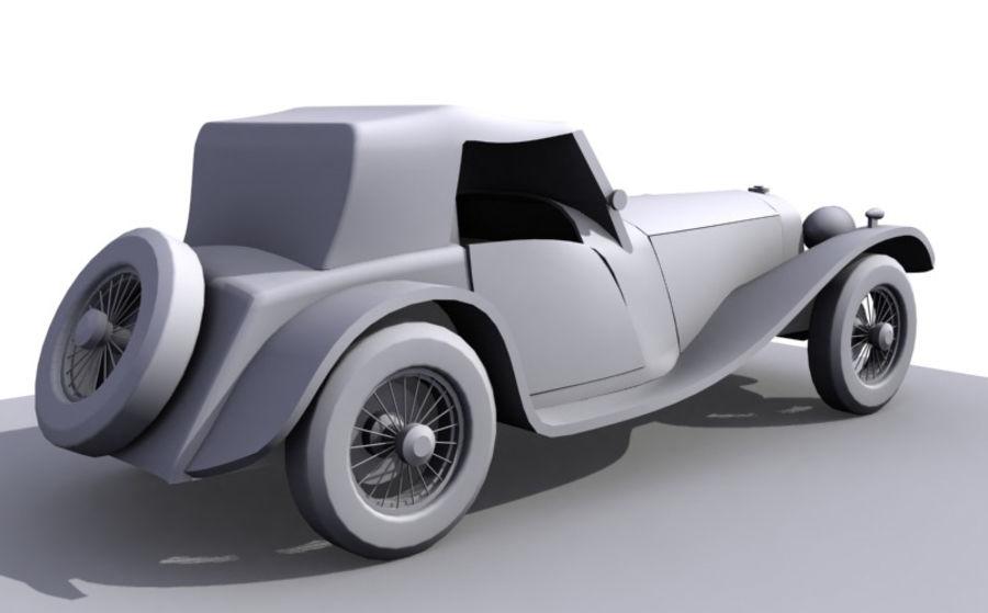 Старинный автомобиль royalty-free 3d model - Preview no. 3