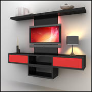TV / Wall Unit Modern Design X_08 3d model