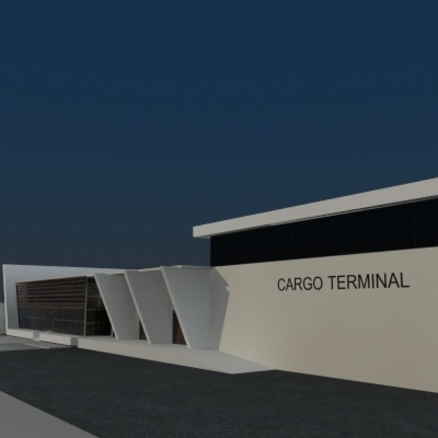 Lastterminal royalty-free 3d model - Preview no. 4