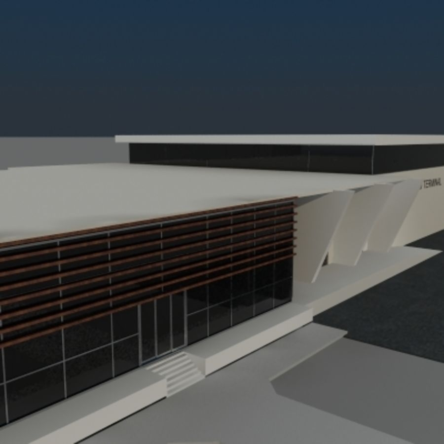 Lastterminal royalty-free 3d model - Preview no. 2