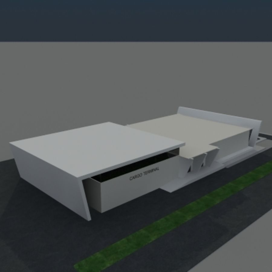 Lastterminal royalty-free 3d model - Preview no. 9