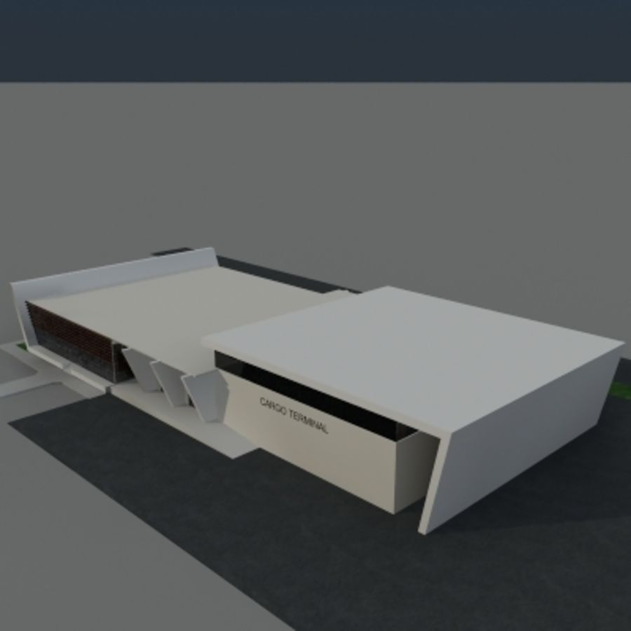 Lastterminal royalty-free 3d model - Preview no. 8
