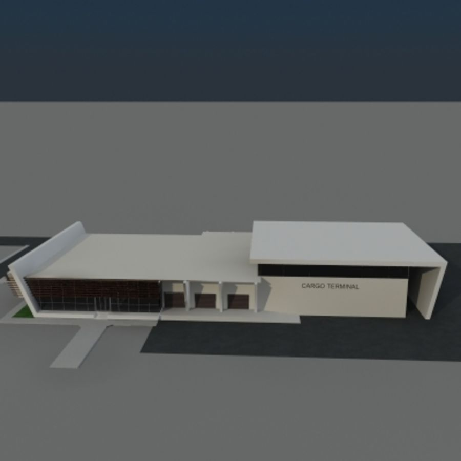 Lastterminal royalty-free 3d model - Preview no. 5