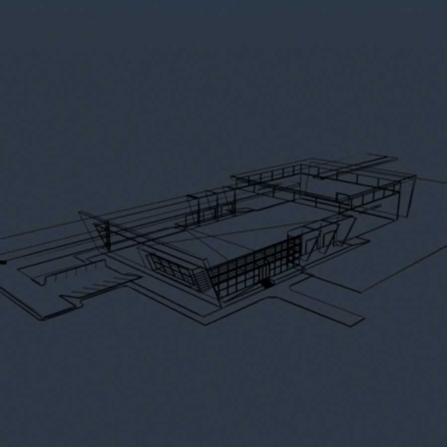 Lastterminal royalty-free 3d model - Preview no. 11
