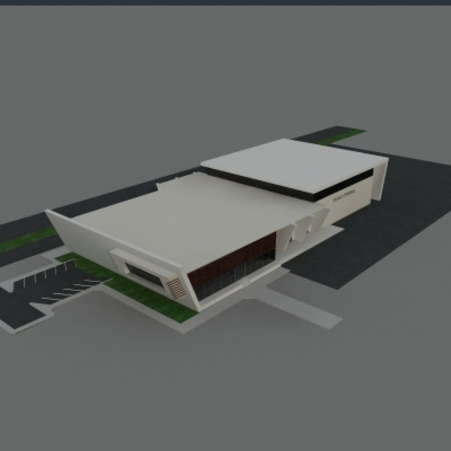 Lastterminal royalty-free 3d model - Preview no. 3