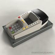 銀行ハンドヘルドPAC 3d model