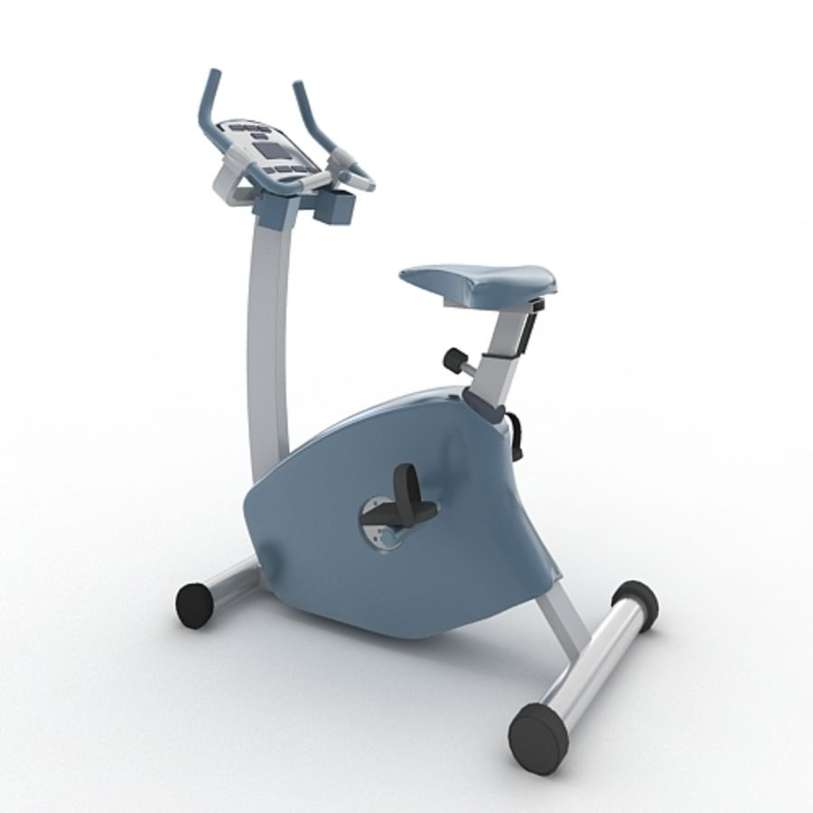 Exercise Bike royalty-free 3d model - Preview no. 1