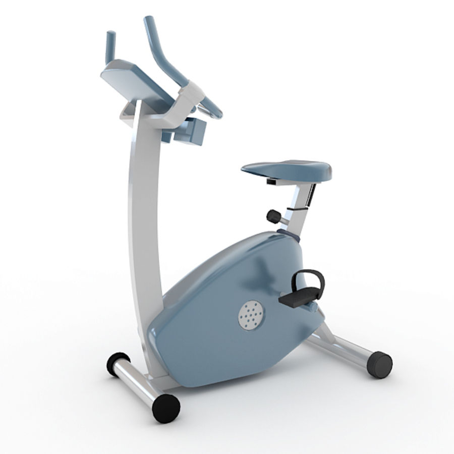 Exercise Bike royalty-free 3d model - Preview no. 2