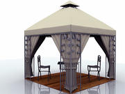 Gazebos Shade 3d model