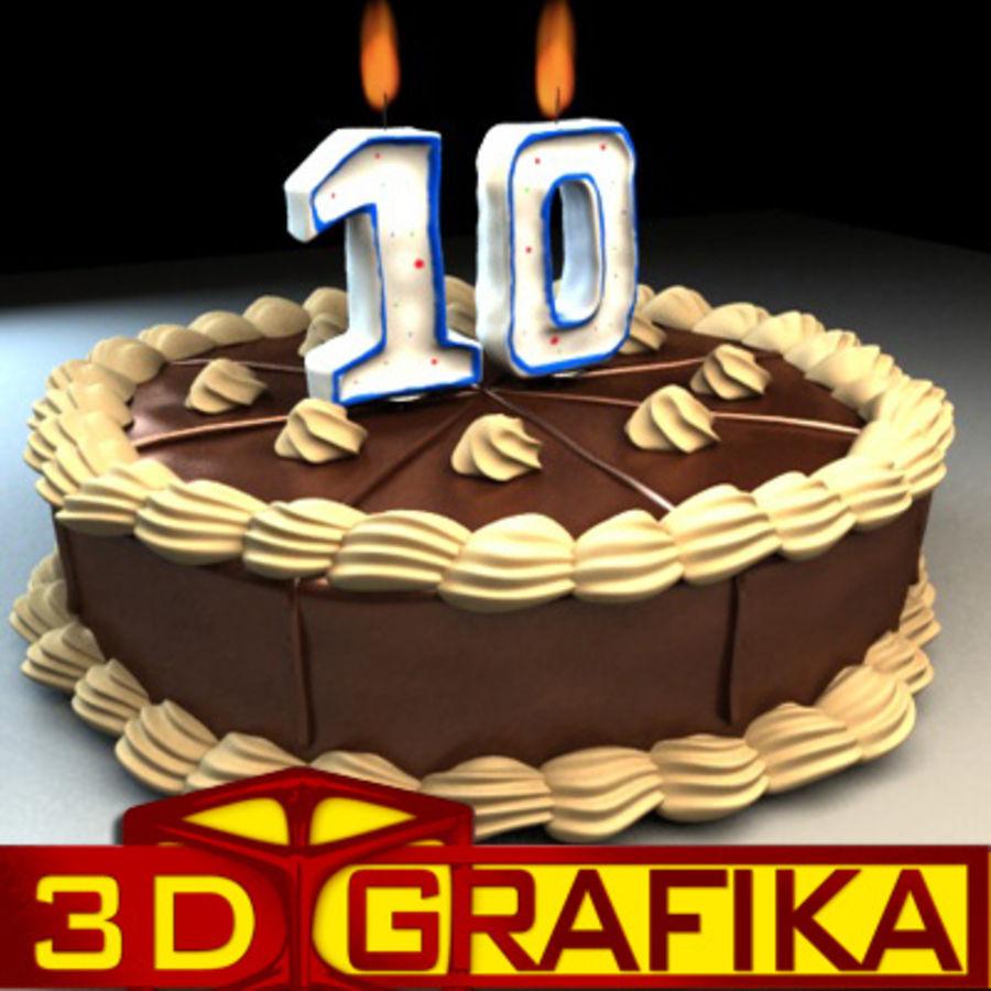 Birthday Cake 3d Model 19 X Free3d