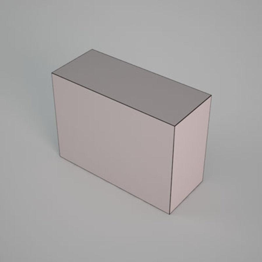 Box av Granco mellanmål av 3D Rivers royalty-free 3d model - Preview no. 5