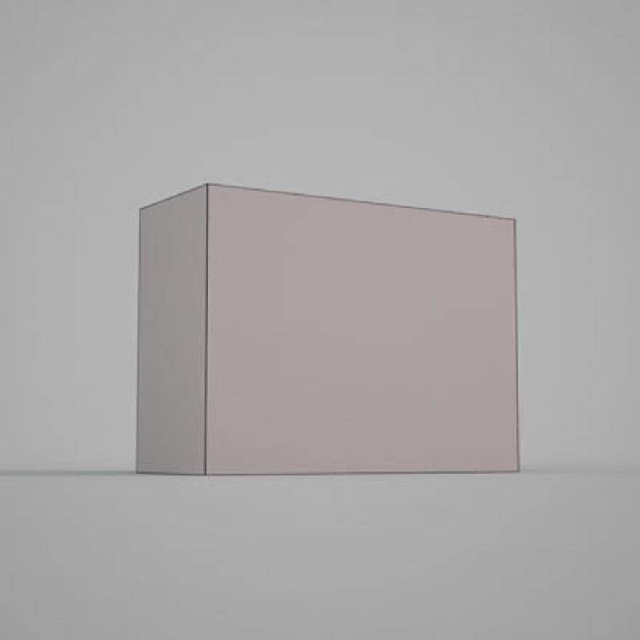 Box av Granco mellanmål av 3D Rivers royalty-free 3d model - Preview no. 6