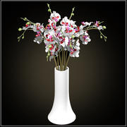 orchids bouquet 3d model