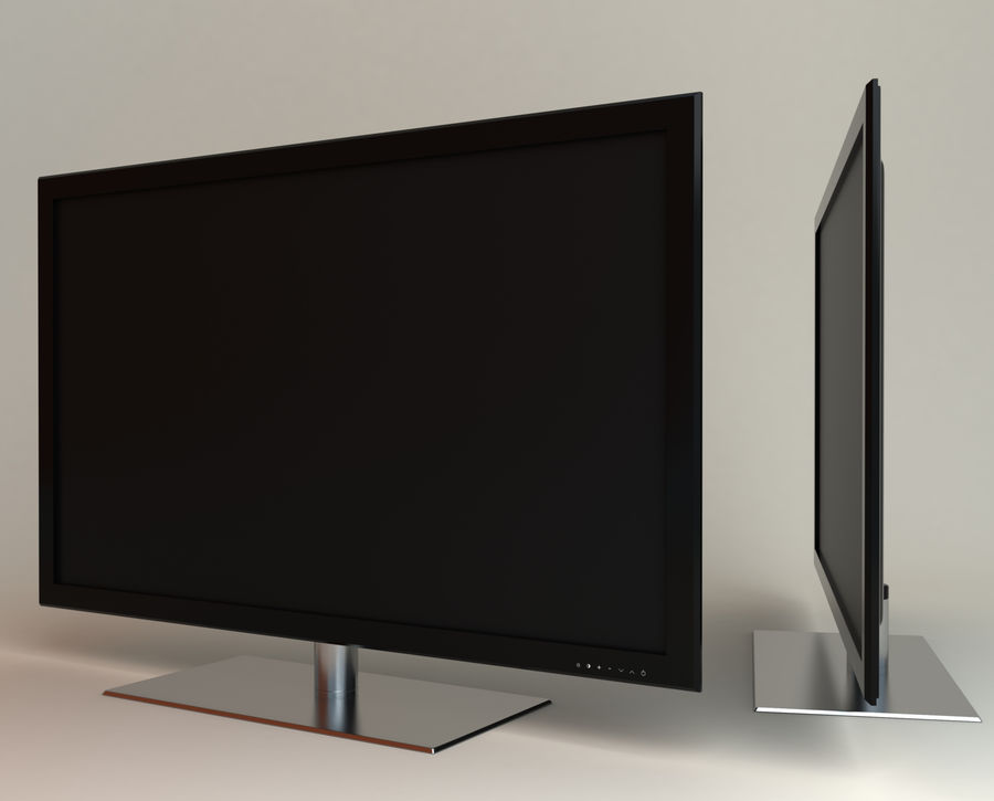 Samsung LED TV UE40B8000 royalty-free 3d model - Preview no. 1