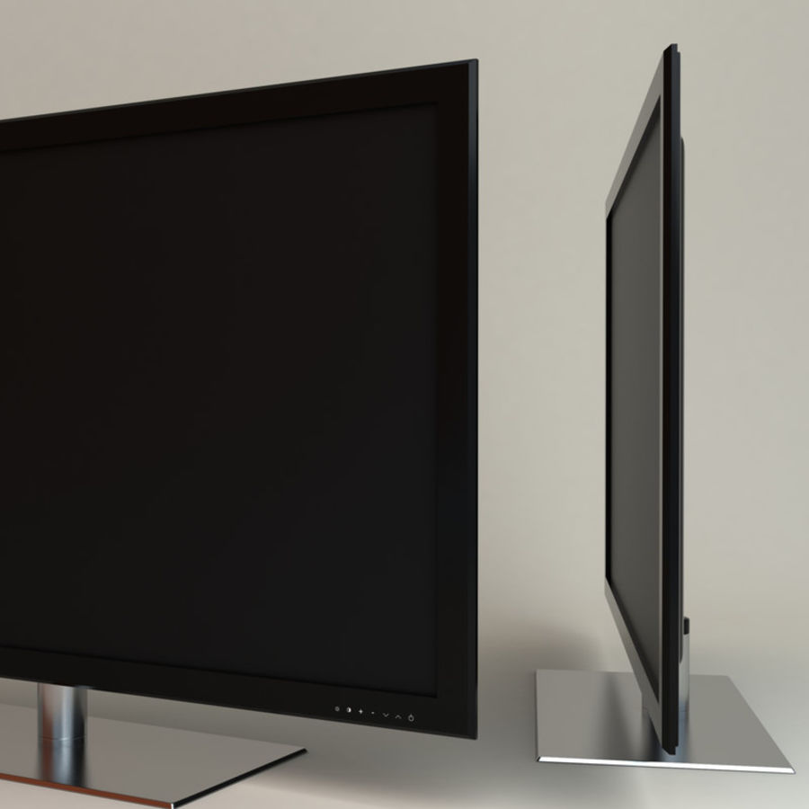 Samsung LED TV UE40B8000 royalty-free 3d model - Preview no. 2