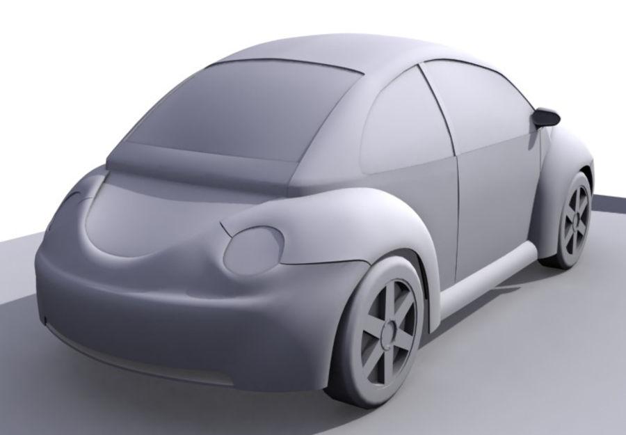 Samochód 2 royalty-free 3d model - Preview no. 2