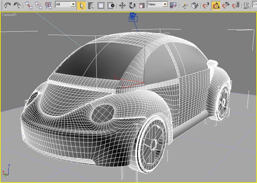 Samochód 2 royalty-free 3d model - Preview no. 4
