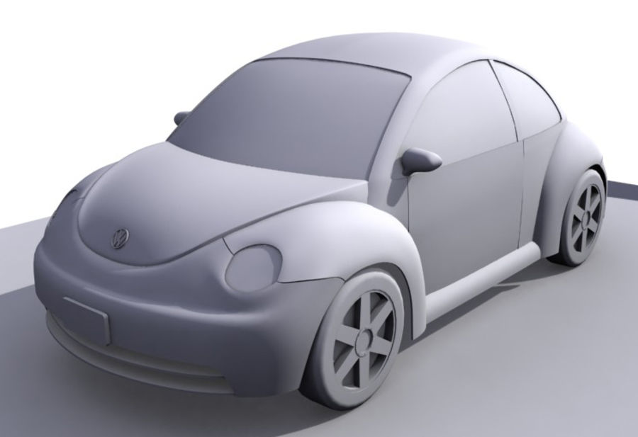 Samochód 2 royalty-free 3d model - Preview no. 1