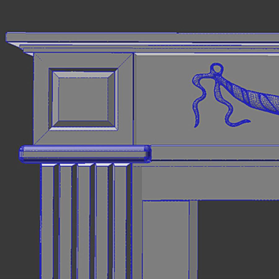 Fireplace - ARRIAGA Washington royalty-free 3d model - Preview no. 2