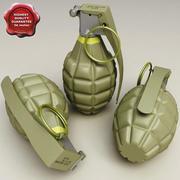 MK II Grenade 3d model
