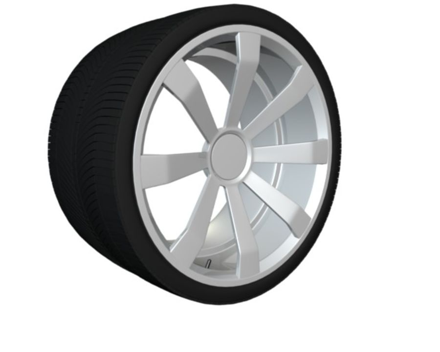 concept rim collection royalty-free 3d model - Preview no. 3